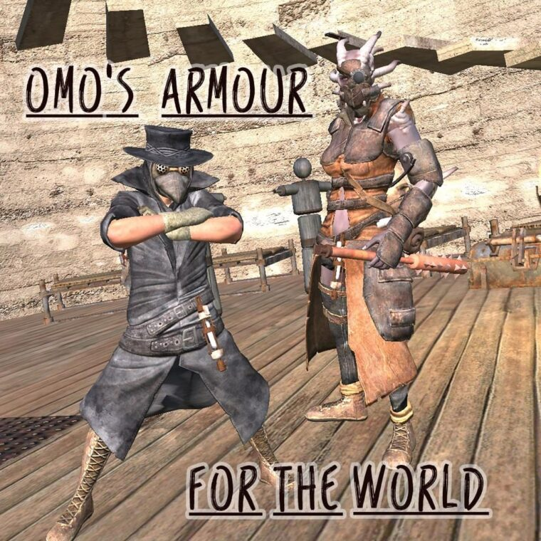 OMO'S ARMOUR for the World - Kenshi мод