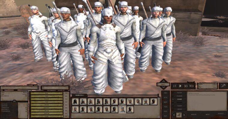Religious War 1 — Crusaders of the Holy Flame (устаревшая версия) - Kenshi мод