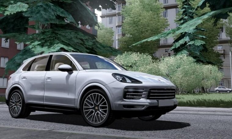 Porsche Cayenne S 2018 (1.5.9) - City Car Driving мод