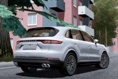 Porsche Cayenne S 2018 (1.5.9) - City Car Driving мод (изображение 3)