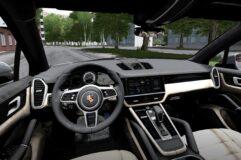 Porsche Cayenne S 2018 (1.5.9) - City Car Driving мод (изображение 4)