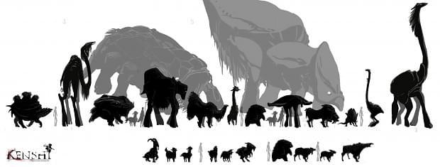 Primal Wildlife - Kenshi мод