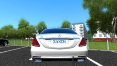 Mercedes-Benz S63 AMG (устаревшая версия) (1.5.9) - City Car Driving мод (изображение 2)