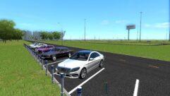 Mercedes-Benz S63 AMG (устаревшая версия) (1.5.9) - City Car Driving мод (изображение 3)