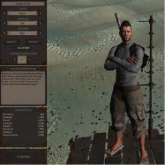 Ranger of Ebin - Kenshi мод