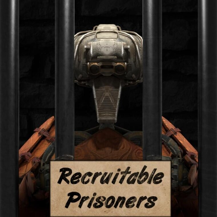 Recruitable Prisoners (with dialogue) - Kenshi мод
