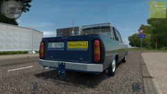 Renault 12 Pick-up (1.5.9) - City Car Driving мод (изображение 3)