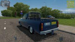 Renault 12 Pick-up (1.5.9) - City Car Driving мод (изображение 5)