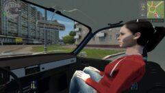 Renault 12 Pick-up (1.5.9) - City Car Driving мод (изображение 6)