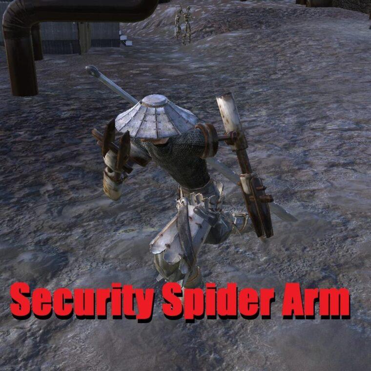 Security Spider Arm Limbs - Kenshi мод