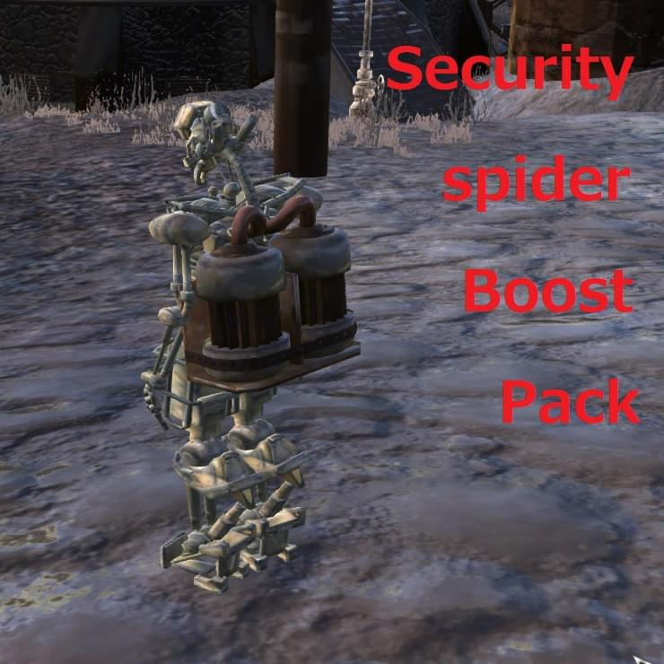 Security Spider Boost Pack - Kenshi мод