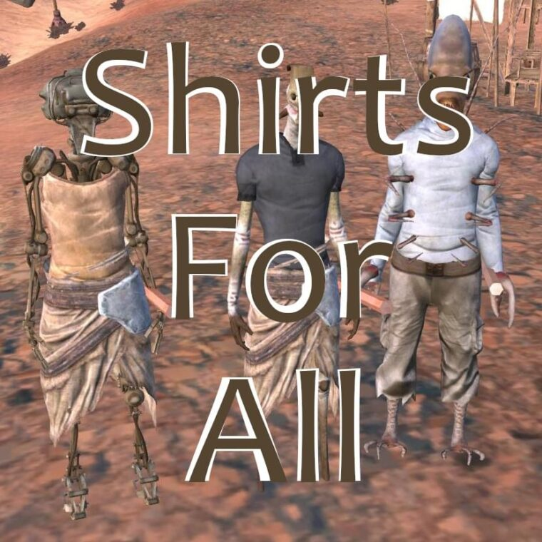Shirts For All — Unlock Armor Slots - Kenshi мод