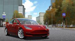 Tesla Model 3 (1.5.9) - City Car Driving мод (изображение 2)