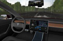 Tesla Model 3 (1.5.9) - City Car Driving мод (изображение 3)