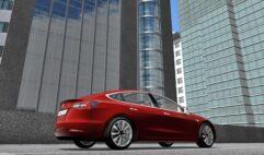 Tesla Model 3 (1.5.9) - City Car Driving мод (изображение 6)