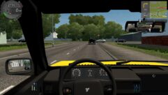 Tofas Sahin (Taxi) (1.5.9) - City Car Driving мод (изображение 2)