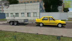 Tofas Sahin (Taxi) (1.5.9) - City Car Driving мод (изображение 6)