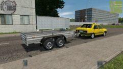 Tofas Sahin (Taxi) (1.5.9) - City Car Driving мод (изображение 7)