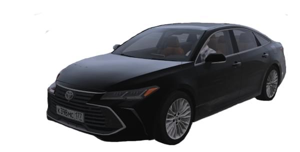 Toyota Avalon 3.5 2019 (1.5.9) - City Car Driving мод