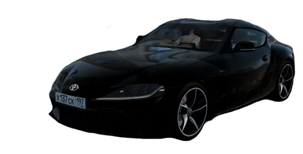 Toyota Supra 3.0 A90 2019 (1.5.9) - City Car Driving мод
