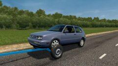 Прицеп с Volkswagen Golf 3 (1.5.9) - City Car Driving мод (изображение 2)