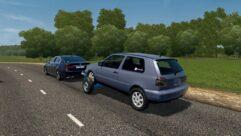 Прицеп с Volkswagen Golf 3 (1.5.9) - City Car Driving мод (изображение 3)
