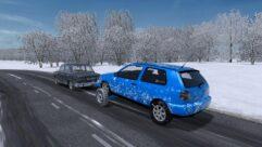 Прицеп с Volkswagen Golf 3 (1.5.9) - City Car Driving мод (изображение 6)
