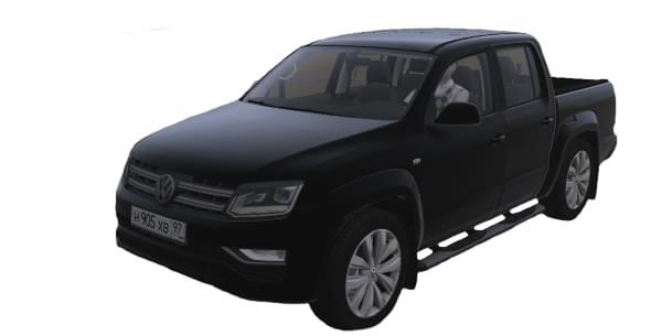Volkswagen Amarok 3.0 V6 TD (1.5.9) - City Car Driving мод