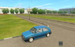 Volkswagen Golf GTI (1.5.9) - City Car Driving мод (изображение 9)