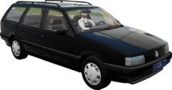 Volkswagen Passat B3 1993 (1.5.9) - City Car Driving мод